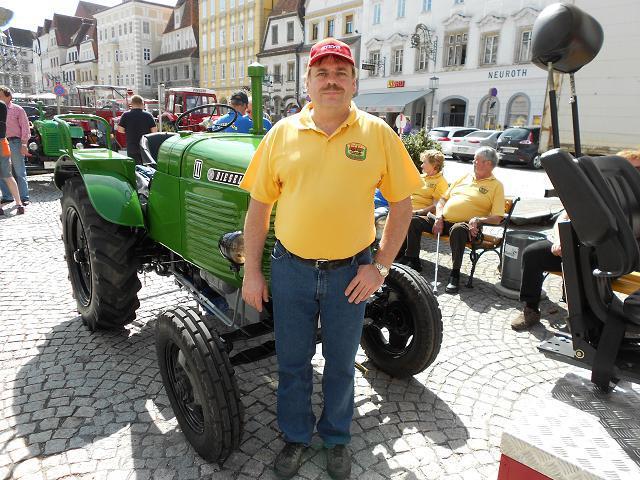 Gruppenfoto Traktorfreunde